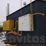 Модульна котельна КУМ-В0.5 на навісних газових котлах NAVI 100BC (6)