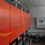 Модульна котельна КУМ-В0.5 на навісних газових котлах NAVI 100BC (7)