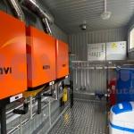 Газова модульна котельна КУМ-В0.3 на навісних котлах NAVI 100BC (5)